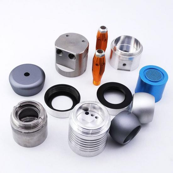 Colorful CNC Aluminum Accessories
